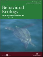Cover of volume 19 issue 2 Behavioral Ecology