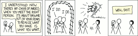 Commitment by xkcd.com