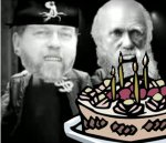 Myers, Darwin and cake